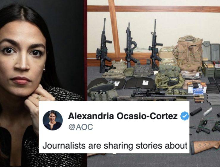 Ocasio-Cortéz Acaba de Romper el Silencio Sobre el Complot Para Asesinarla a Ella y Otros Demócratas