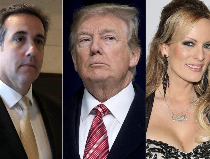 Tiempo Atrás Él Amenazó a Stormy a nombre de Trump. Ahora Ella le Envía un Mensaje Para Confortarlo