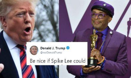 Trump Acaba de Lanzar un Repugnante Ataque Racista al Director Negro Ganador del Oscar