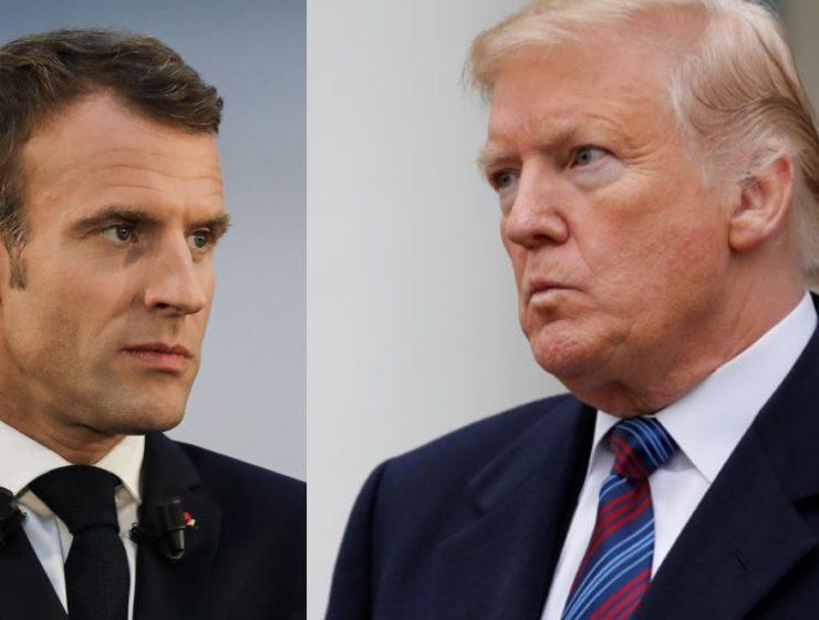 Funcionarios Franceses Anuncian Que su Gobierno Está Haciendo Caso Omiso de las Demandas de Trump