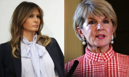 Ex Ministra de Exteriores Australiana Acaba de Revelar Una Metedura de Pata de Melania Trump