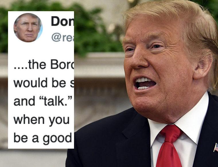Evalentonado Luego del Reporte, Trump Arremete Contra México y Lanza un Estúpido Ultimatum