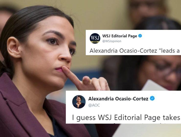 """Si Así la Atacan, Así le Temen: El Wall Street Journal Trató de Burlarse de Ocasio y Calificarla de """"Ignorante"""""""