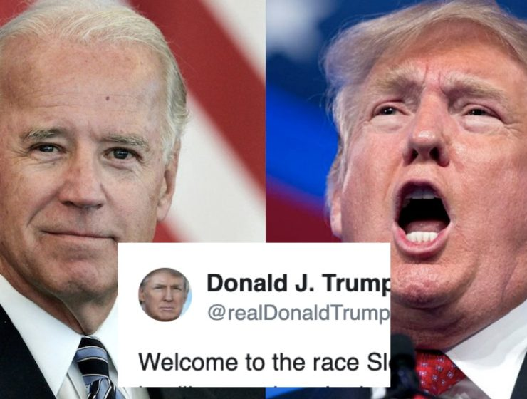 Biden Anuncia su Candidatura y Trump Reacciona Como Vulgar Matón, Proyectando sus Inseguridades