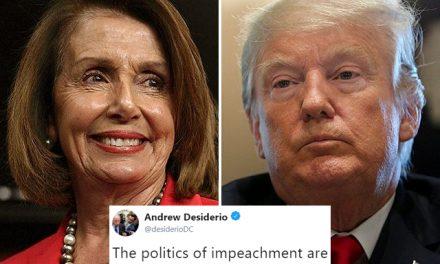 Turbulencias en el D.C.: La Posible Destitución de Trump Vuelve a Estar en el Orden del Día