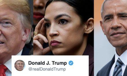 La Mejor Combinación de Trump: Atacar a Ocasio + Mentir Descaradamente + Usurpar Éxitos de Obama