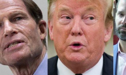 Contundente Amenaza al Hijo de Trump Por Parte del Miembro de Más Rango del Comité de Inteligencia