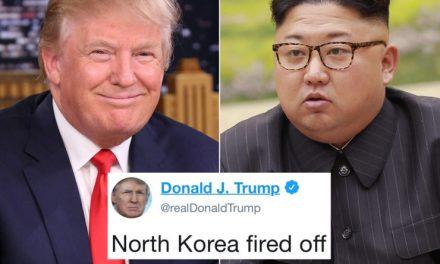 """Ahora le Dicen """"Tres en Uno"""": Alabó a un Dictador, Ofendió a un Rival y a un Aliado, al Mismo Tiempo"""