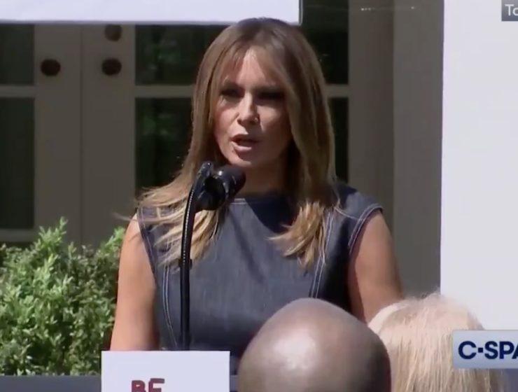 DE NUEVO: Melania Trump Humilla Públicamente al Presidente en su Evento Anual Anti Acoso