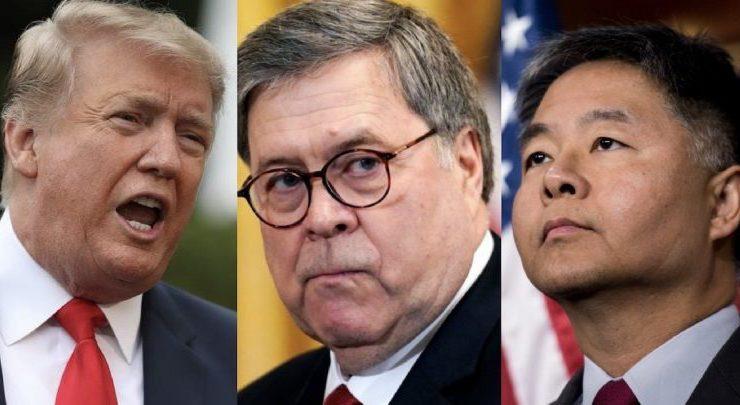 Después de las Aberraciones de Trump, Ted Lieu Envió Una Hilarante Carta al Procurador General