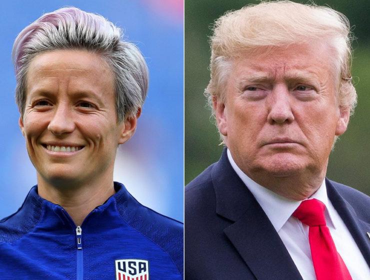 Trump Ofendió Dos Veces a la Gran Goleadora. Ella no se Inmutó, Pero le Anotó Tremendo ¡Gooooool!