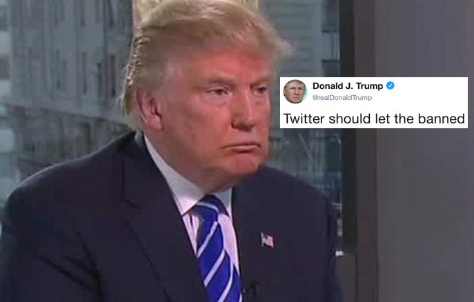 Trump Aboga Abiertamente Por los Supremacistas Blancos Ante las Últimas Decisiones de Twitter