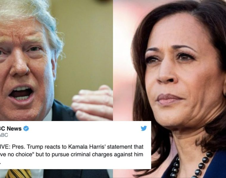 La Forma en Que Trump Respondió a Kamala Demuestra lo Mucho Que le Teme a Esta Mujer