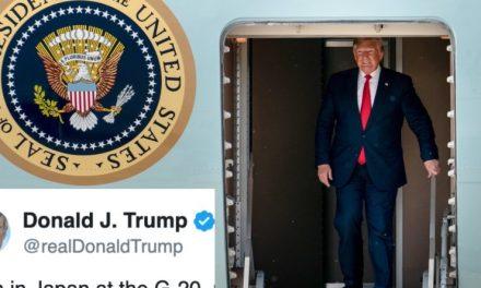 Ellos no te Dijeron Qué Hizo Trump Llegando a Japón, Pero Nosotros sí. Nada de Qué Enorgullecerse