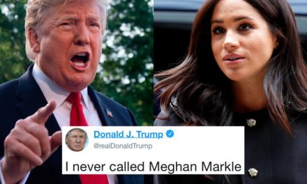 "Trump se Retracta de Haber Llamado ""Desagradable"" a Meghan Markle y Acusa a los Medios"