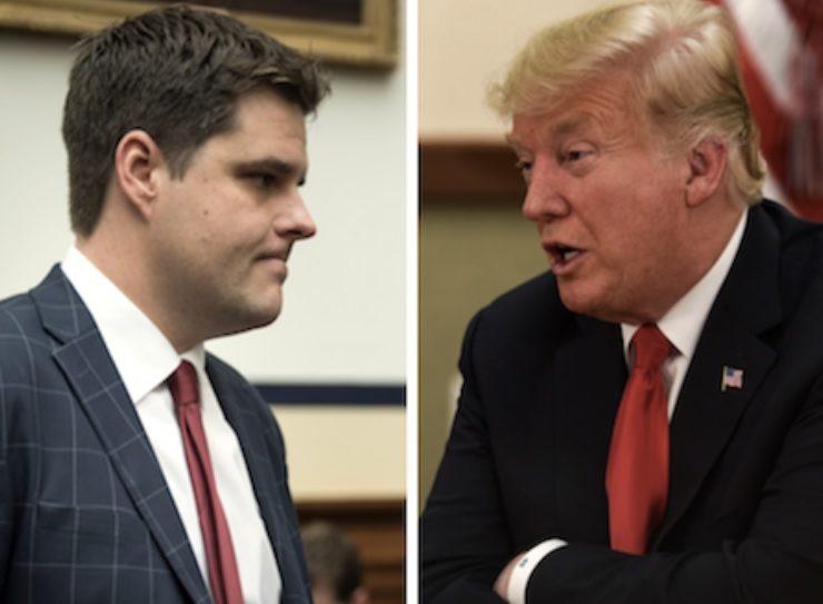 Posiblemente Florida Pierda a uno de sus Congresistas Más Lamebotas y Trump a su Fiel Lacayo