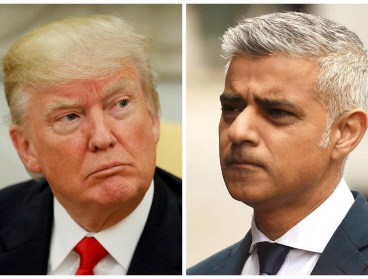 """Impresionante Editorial: el Alcalde de Londres Caracteriza el Recibimiento a Trump Como """"No Británico"""""""