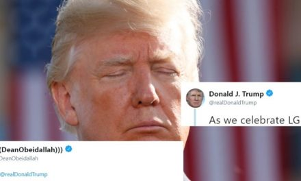 Trump Intento Celebrar el Mes del Orgullo LGBTQ. En su Lugar, Logró Molestar Mucho a los Twiterianos