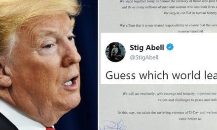 Más Vergonzosa Aún Que su Llegada fue la Despedida de Trump de Europa y de los Líderes Mundiales