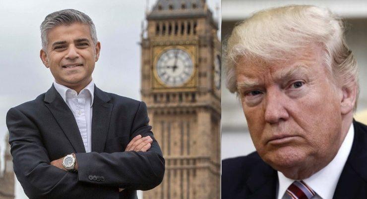 Vicioso Ataque de Trump a Londres y su Alcalde, Pero se Olvidó de New York, Pensilvania y EEUU en General
