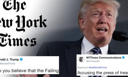 El NY Times Responde a las Acusaciones de Traición de Trump y Saca a la Luz un Problema Grave
