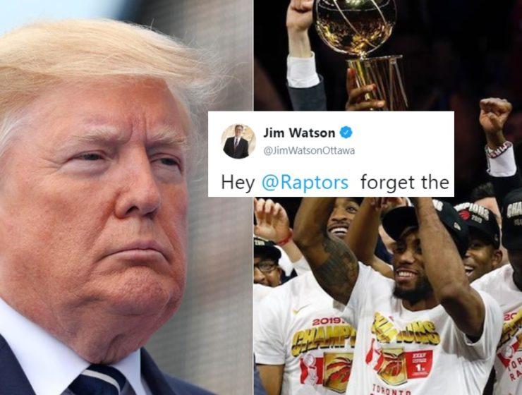 El Alcalde de la Capital de Canadá Acaba de Hacer Una Oferta a los Raptors Que Irritará a Trump