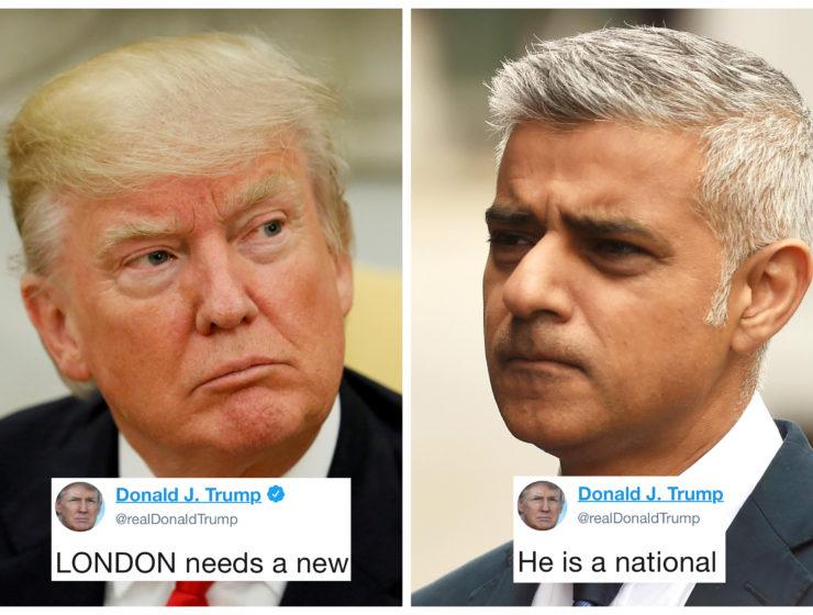 Trump Atacó al Alcalde de Londres Sin Darse Cuenta Que las Estadísticas lo Acusan a Él y no al Otro