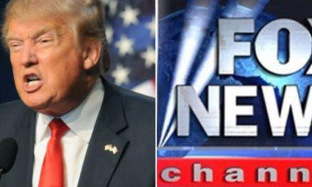 Sigue Escalando la Bronca de Trump con Fox News, Pero Ahora es la Red la Que le Respondió