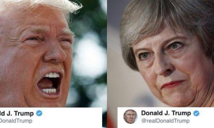 Trump Acaba de Atacar Personalmente a la Premier Británica en Respuesta a las Filtraciones de su Embajador