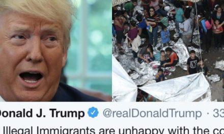 Sin el Menor Ápice de Verguenza Trump da la Solución a las Horribles Condiciones de sus Campos de Concentración