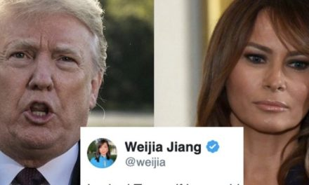 """Le Preguntan a Trump si le Parecería Bien Que Alguien le Dijera a Melania Que """"se Regrese a su País"""""""