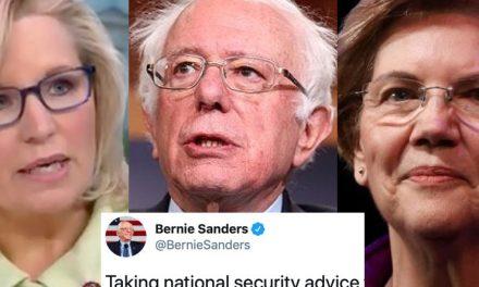 """""""Digna"""" Hija de su Padre, Liz Atacó a la Warren, Pero no Contó Con Que Bernie la Haría Trizas"""