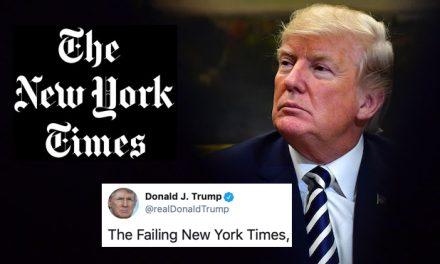 """Trastornado por el Enorme """"Bajón"""" en las Encuestas, Trump Decidió Atacar Fieramente al New York Times"""