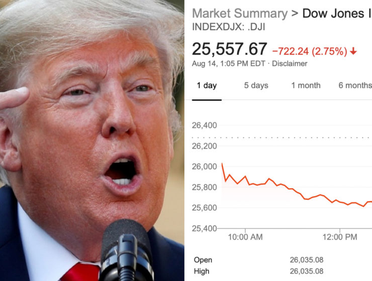 El Mercado de Valores se Derrumba y Trump Busca Desesperadamente a Quién Echar las Culpas