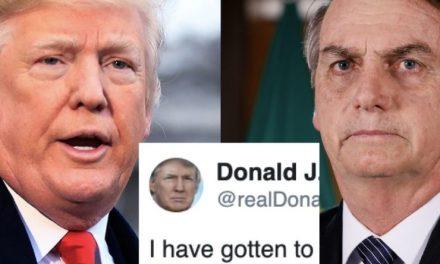 Trump Acaba de Alabar a Bolsonaro Luego de Que Este Declinó los $20 Millones Para Combatir los Fuegos