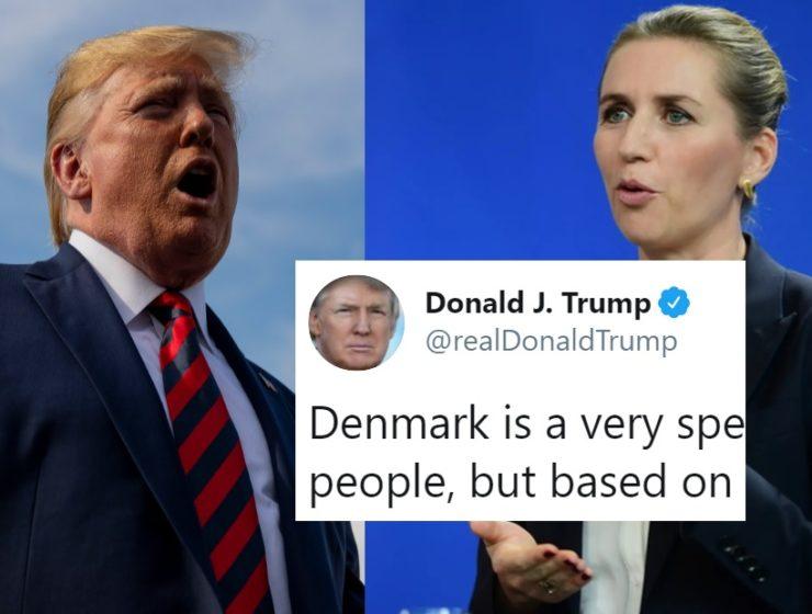 Trump Pospuso su Reunión Con la Primera Ministra Danesa Por la Más Insignificante de las Causas