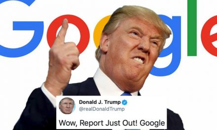 Trump Acaba de Culpar a Google Por Haber Perdido el Voto Electoral en el 2016