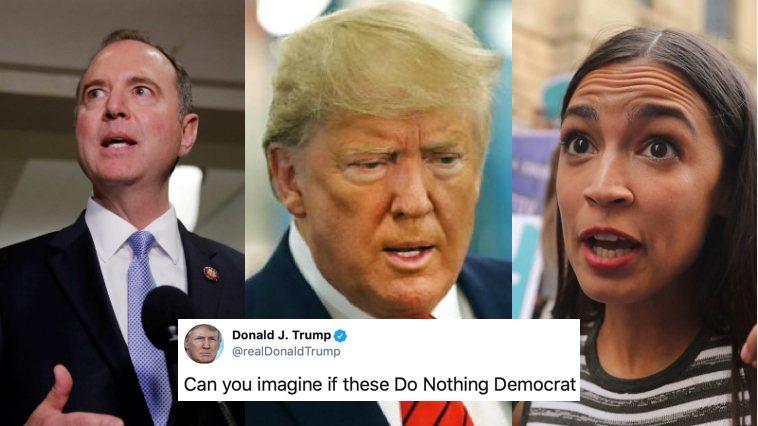 """El Subconsciente lo Traicionó: Trump se Refirió a Miembros del Congreso Judíos y Mujeres Como """"Salvajes"""""""