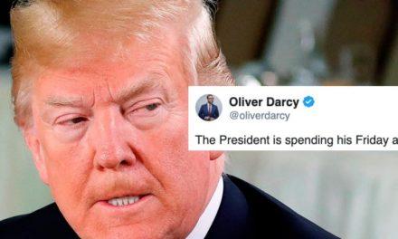 Reportero Principal de CNN se le va Encima a Trump por su Video Falsificado y sus Mentiras