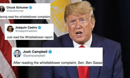 Los Congresistas Que ya Leyeron la Queja Completa del Informante Están Más Alarmados Aún
