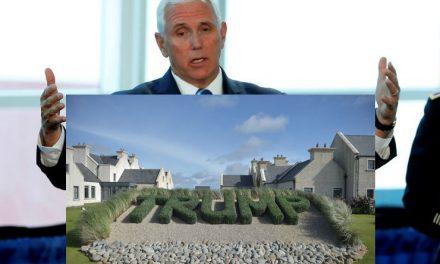 Los Republicanos Atentan Contra la Investigación de la Estancia de Pence en el Resort de Trump en Irlanda