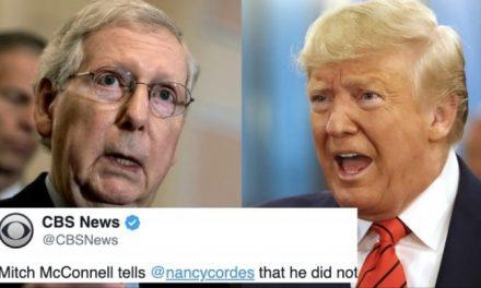 """El Republicano Más Poderoso Niega Haber Hablado con Trump Sobre Llamada a Ucrania y se """"Aleja"""" de Él"""