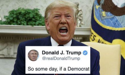 Trump Compara su Destitución con los Linchamientos y Lanza Sombría Advertencia al Próximo Presidente Demócrata