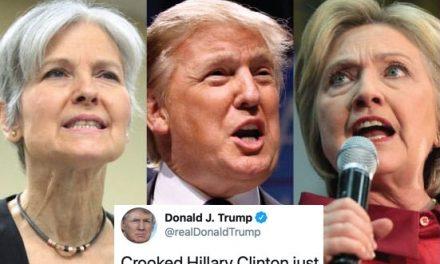 """Hillary Acusó a Jill Stein de Ser un """"Activo Ruso"""" e Increíblemente Trump Salió a Defenderla"""
