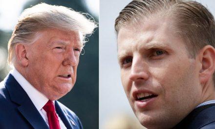 Mientras Trump Acusa al Hijo de Biden, Eric Trump Trata de Hacer de las Suyas en el Extranjero (¡Y Falla)