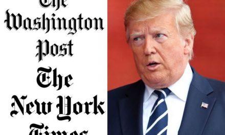 Trump Retoza Con la Idea de Prohibir el New York Times y el Washington Post en la Casa Blanca