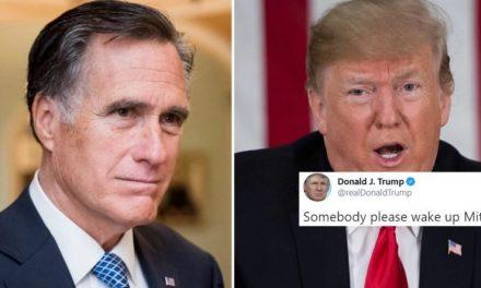 """Otra Pelea de Hienas: Trump Responde a las Críticas de Romney Revelando Sus """"Ruegos"""" del Pasado"""