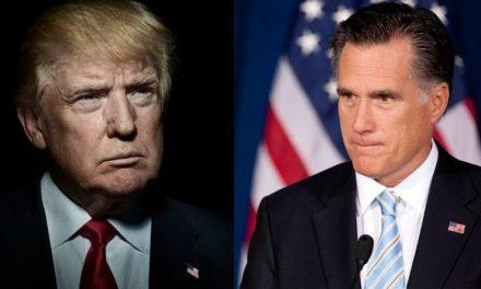 """Hipocresía Pura: Romney Califica a Trump de """"Incorrecto y Atroz"""", Pero de Ahí no Pasa"""