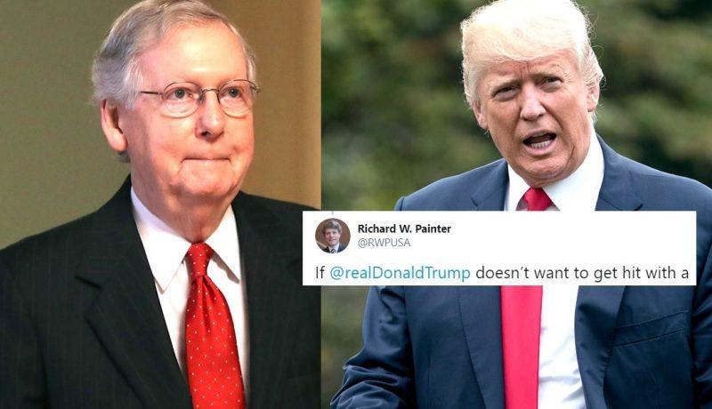 """Ex Jefe de Ética de Bush Acusa a Trump de """"Sobornar"""" a los Senadores Que le Enjuiciarán en el Juicio Político"""