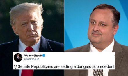 Con Una Impresionante Lista de Ofensas, Shaub Advierte a los Republicanos del Peligro de Defender a Trump